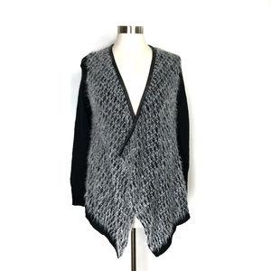 Stitch Fix RD Style Black & White Eyelash Sweater